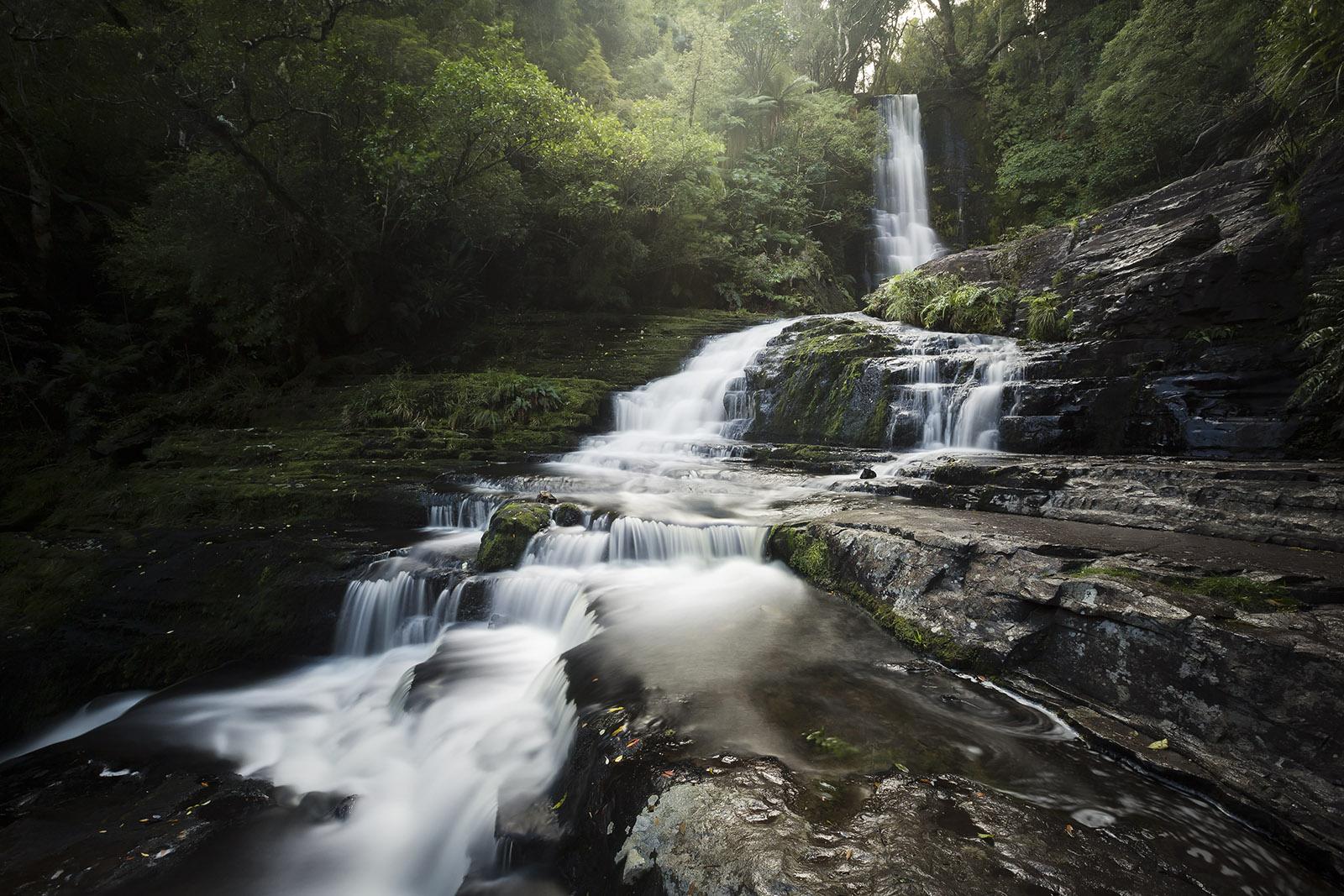 mcleans-falls-catlins-forest-park-nouvelle-zelande-new-zealand-landscape-paysage-cascade-waterfall-south-island-ile-sud-elise-julliard-photographe-photographer-southland-otago