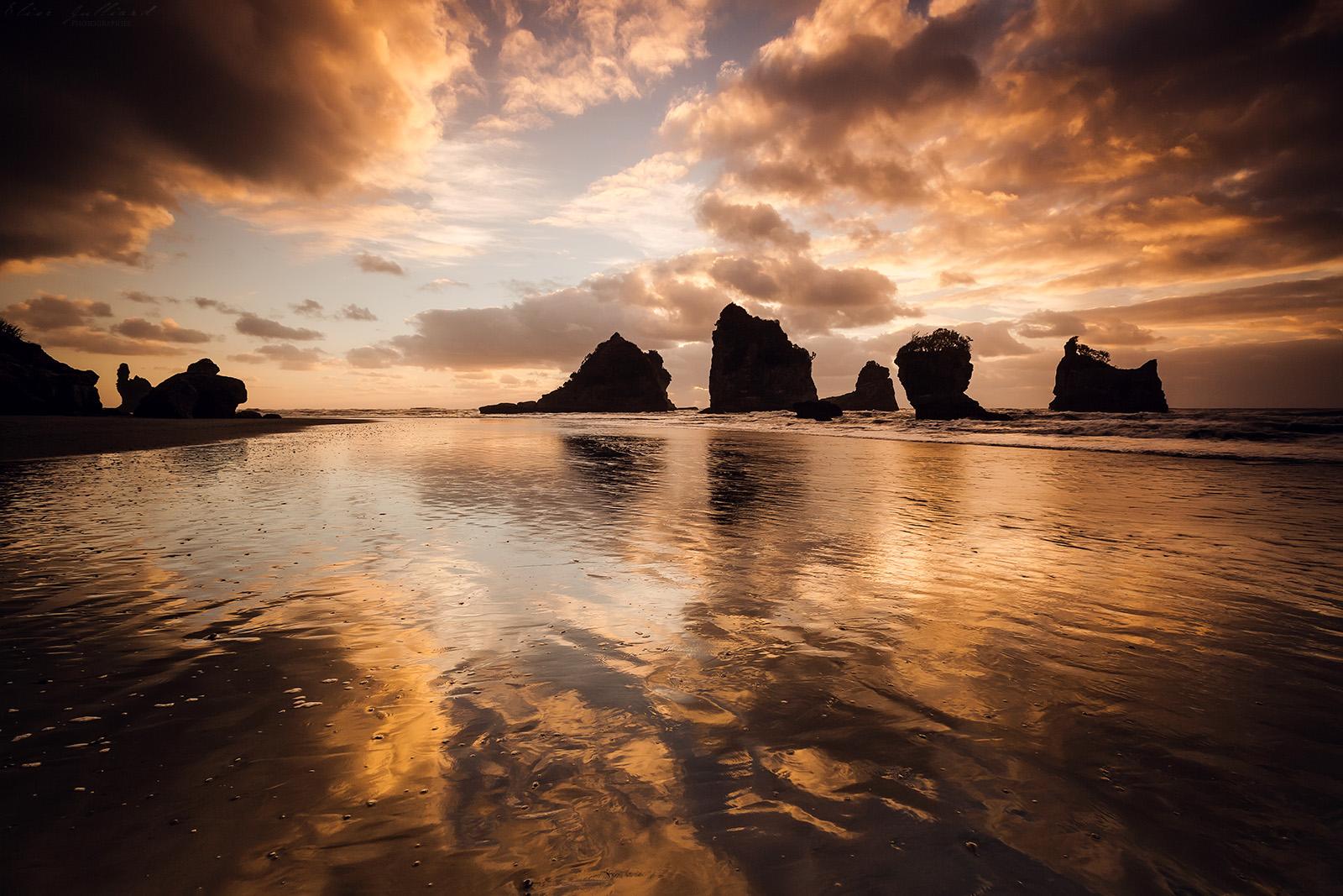 nouvelle-zelande-new-zealand-south-island-motukiekie-beach-rocks-west-coast-sunset-elise-julliard-photographe-photographer-french-wildlife-landscape-tasman-sea-barrytown